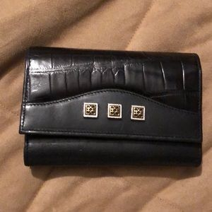Brighton croc/ leather wallet